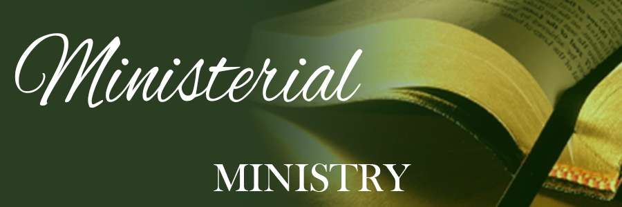 Ministerial Ministry labels